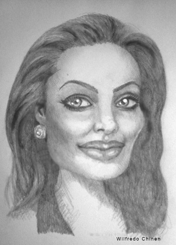 Angelina Jolie par wilfredo